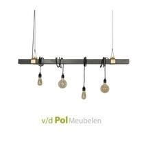 Hanglamp metalen balk Ztahl