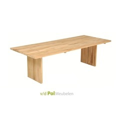 tuintafel-tafel-eettafel-outdoor-buiten-tuin-joi-de-vivre-200-250-100-cm-teakhout-gedeelde-poot-applebee
