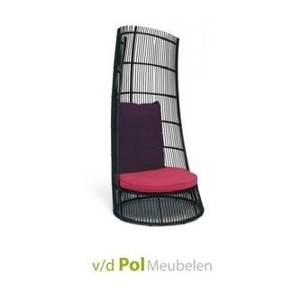 loungestoel-cage-windvanger-applebee-roze-paars-kussen-wicker