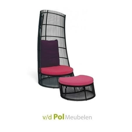loungestoel-cage-footstool-roze-paars-windvanger-applebee