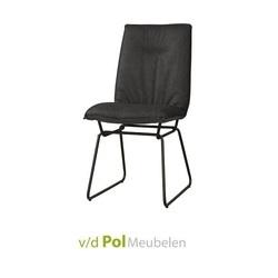 stoel-vitoria-zonder-armleuning-zwart-onderstel-hoge-rugleuning-plooi-rug-stoer-industrieel-tower-living
