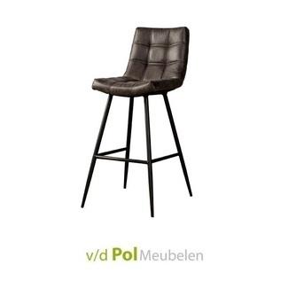 barstoel-navarra-antraciet-fabric-kunstleer-barkruk-metalen-poot-industrieel-stoer-tower-living