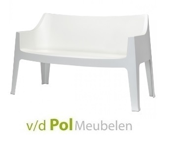 tuinbank-coccolona-wit-kunststof-ivoor-tuinkbankje-scab-design