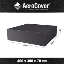 Aerocover hoes grote loungeset 400x300 cm