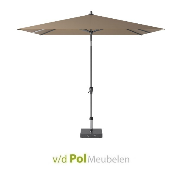 Parasol Polyester 250 x 250 cm taupe