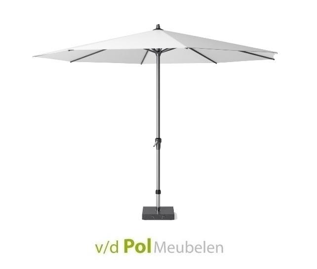 Parasol Polyester Ø 350 cm wit