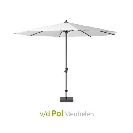 parasol-polyester-o-350-cm-wit-antraciet-weerbestendig