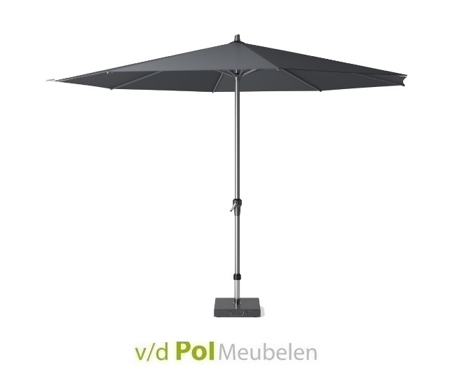 Parasol Polyester Ø 350 cm antraciet