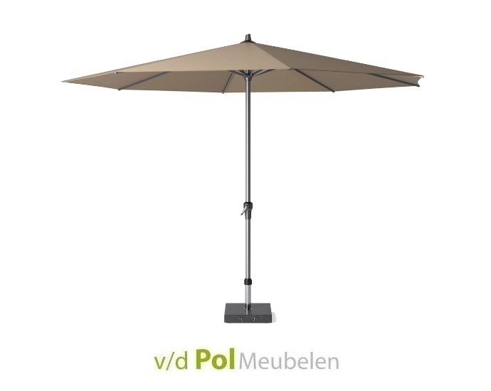 Parasol Polyester Ø 350 cm taupe