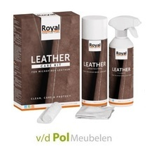 Leather care kit microfiber leather