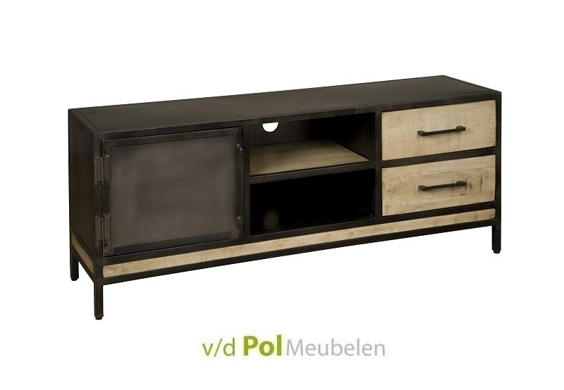 Industrieel TV meubel 153 cm