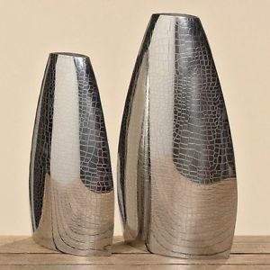 Vaas zilver -set van 2