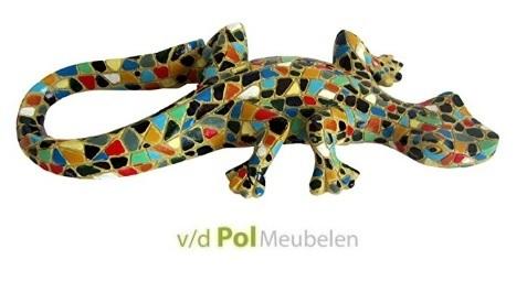 Hagedis mozaik multicolor