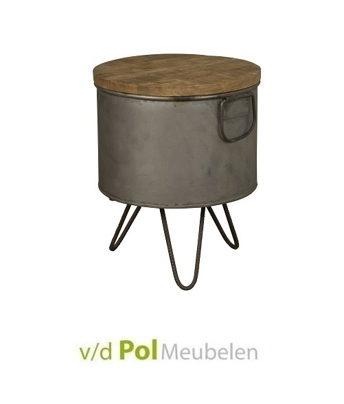 Industriële salontafel Ø32 cm