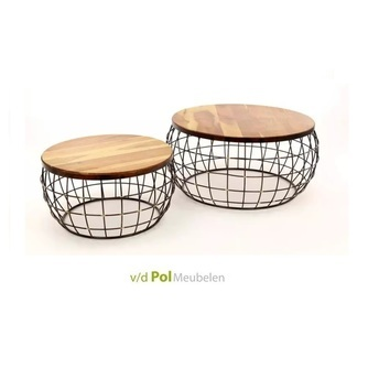 salontafel-mangohout-set-koper-rond-draadstaal-modern-stoer