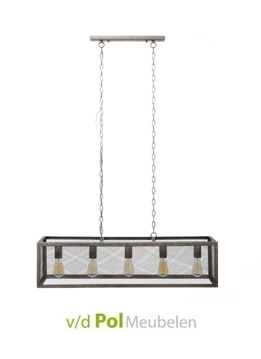 Rechthoekige hanglamp raster