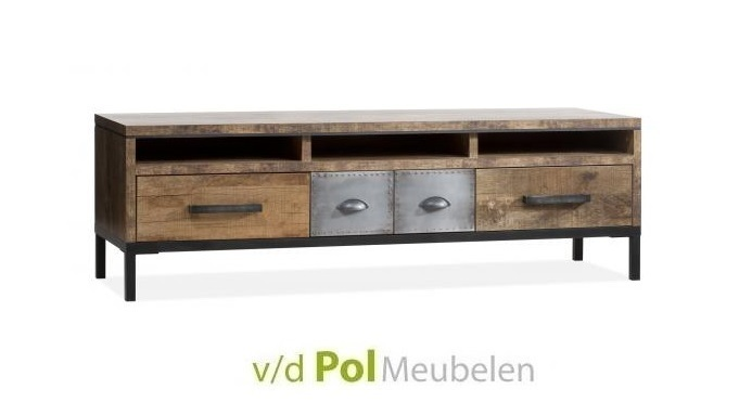 tv-meubel-express-3-lades-lamulux-orient-stoer-industrieel