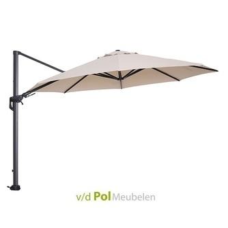 zweefparasol-350-rond-royal-grey-ecru-parasol-stevig-hangend-buiten