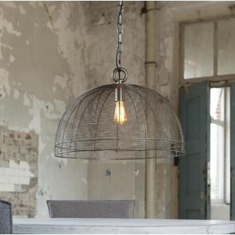 Hanglamp - Metaal draad - Halfronde kap - Zijlstra