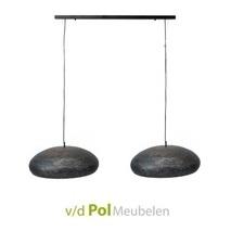 Hanglamp 2x Ovaal Ø53 cm