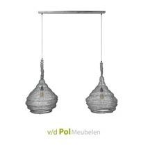 Hanglamp 2x Trechter Ø45 cm