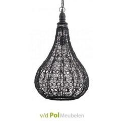 hanglamp-staaldraad-zwart-drops-metaaldraad-ptmd