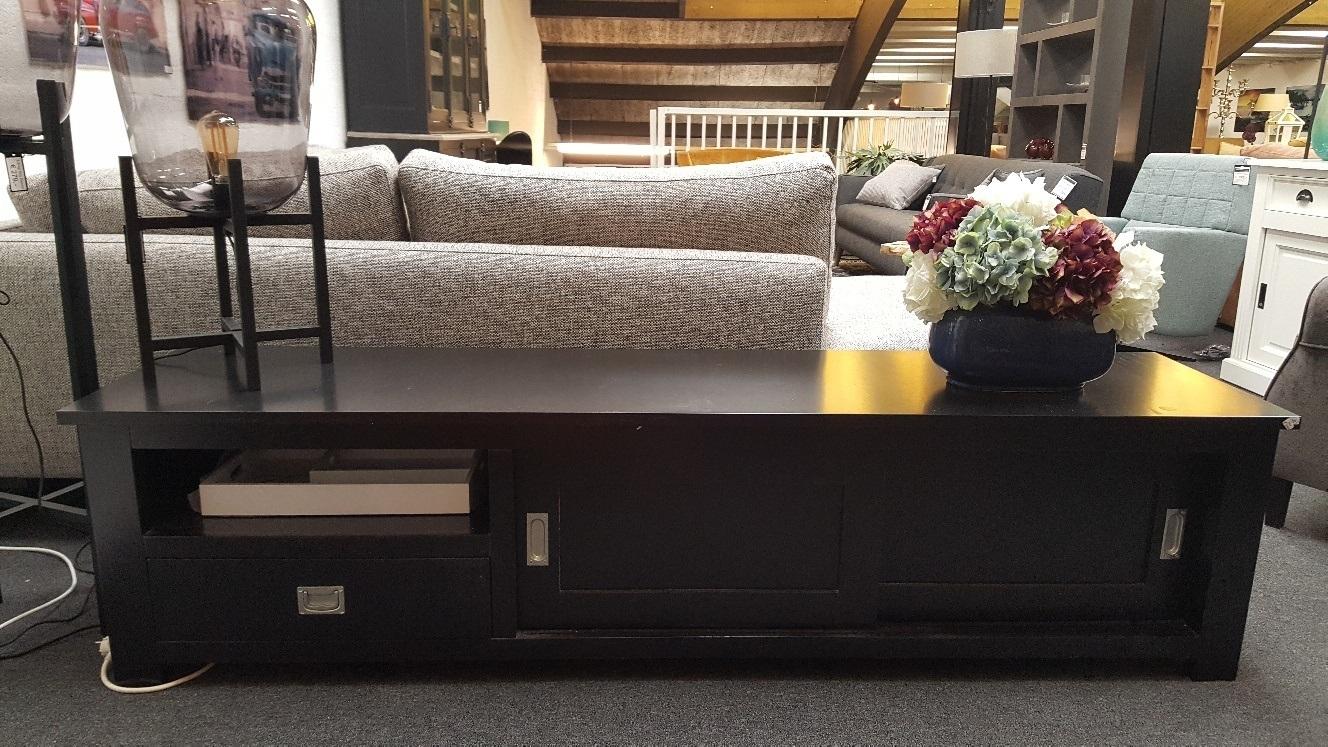Showmodel tv-meubel zwart modern