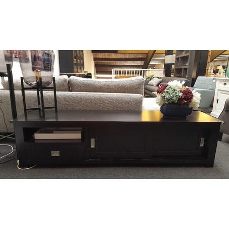 tv-meubel-zwart-modern-gelakt-laag-kastje-eleonora