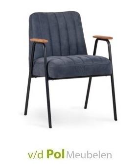 stoel-david-met-armleuning-eetkamerstoel-nouvion-retro-houten-armlegger-armleuning