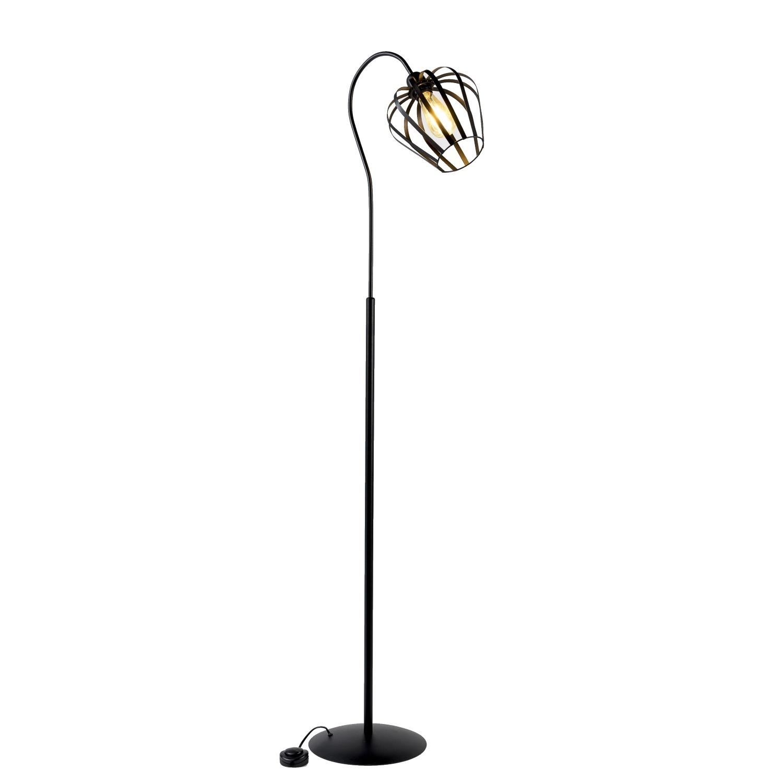 Vloerlamp Metal Curved Flare