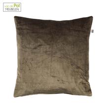 Mystieke kussenhoes Cido 45x45 cm olijf