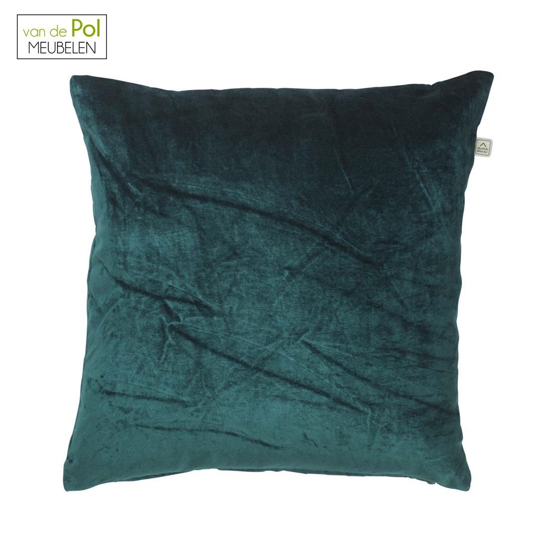 Kussenhoes Cido 45x45 cm smaragd