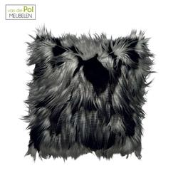 behaard-kussenhoes-jimm-45x45-zwartgrijs