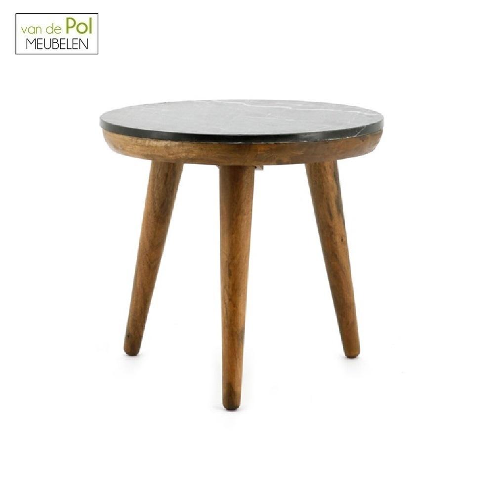 ronde-bijzettafel-trident-50-cm-marmer-rond-houten-driepoot-modern