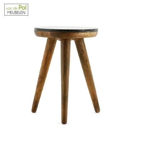ronde-bijzettafel-trident-40-cm-byboo-marmer-bohemian-luxe-uitstraling-mangohout
