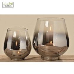 set-windlicht-grazia-kaarsenhouder-waxinehouder-glas-glazen-bol-zilver