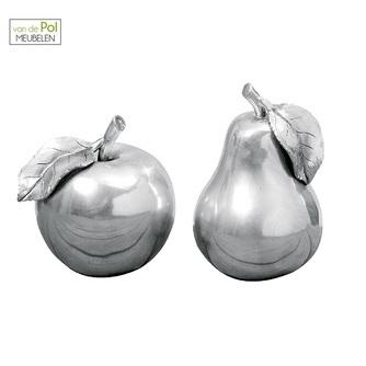 deco-set-appel-en-peer-zilver-fruit-sierfruit-woonaccessoire-glimmend