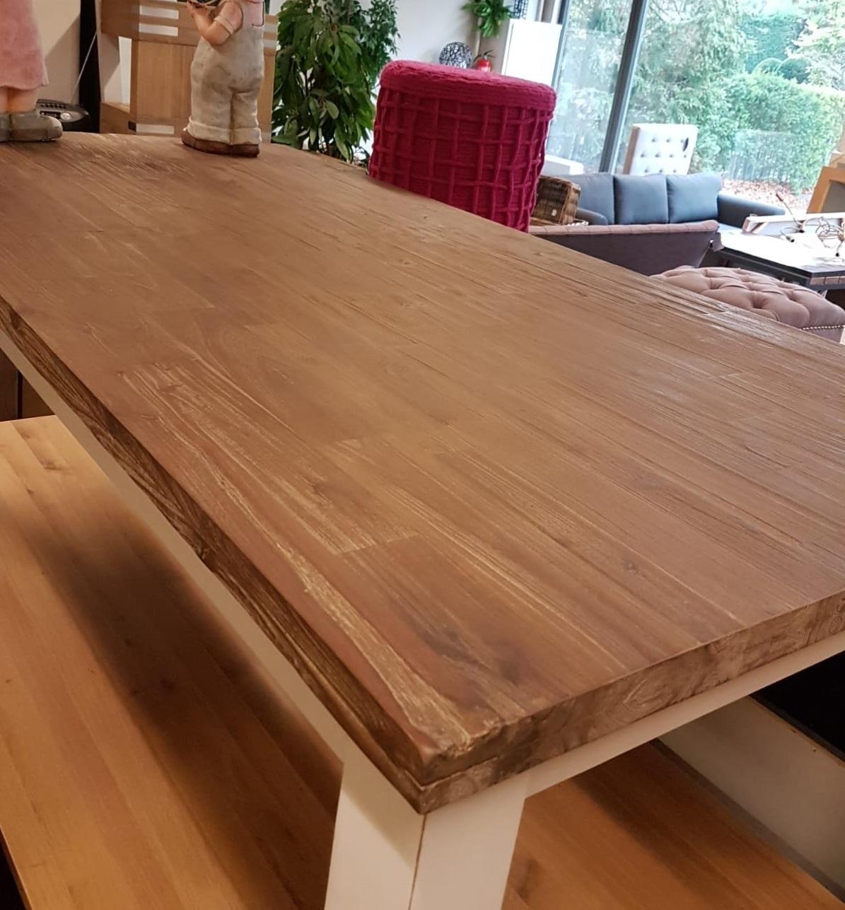 Showmodel 13 tafel acaciahout 200 cm