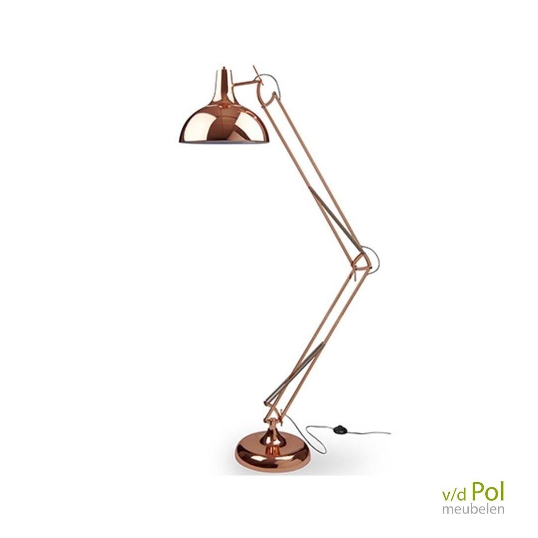 Vloerlamp Jipp koper