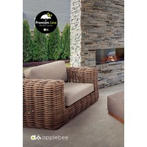 Loungestoel Elements XL AppleBee