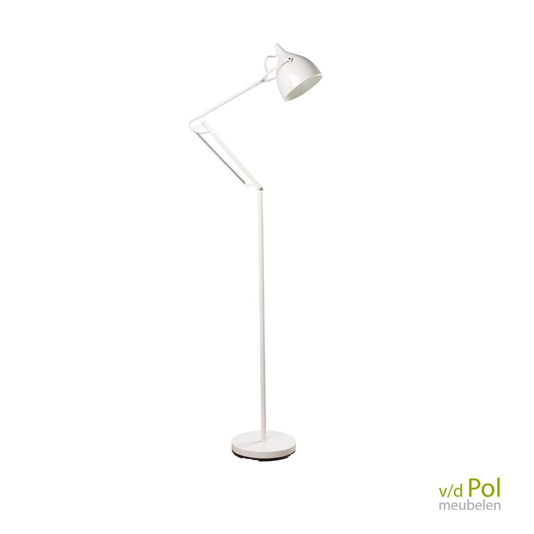 Vloerlamp Reader wit