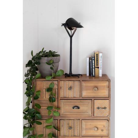 tafellamp-valk-zwart