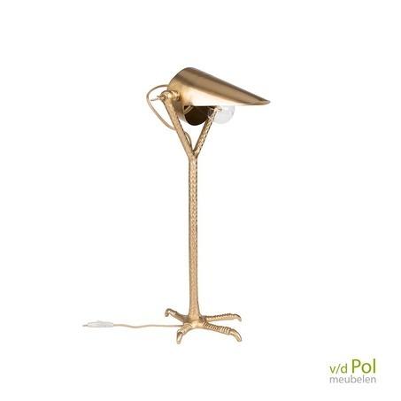 tafellamp-valk-goud
