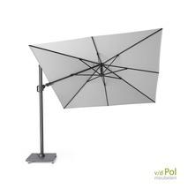 Zweef parasol Challenger T² 3x3 wit