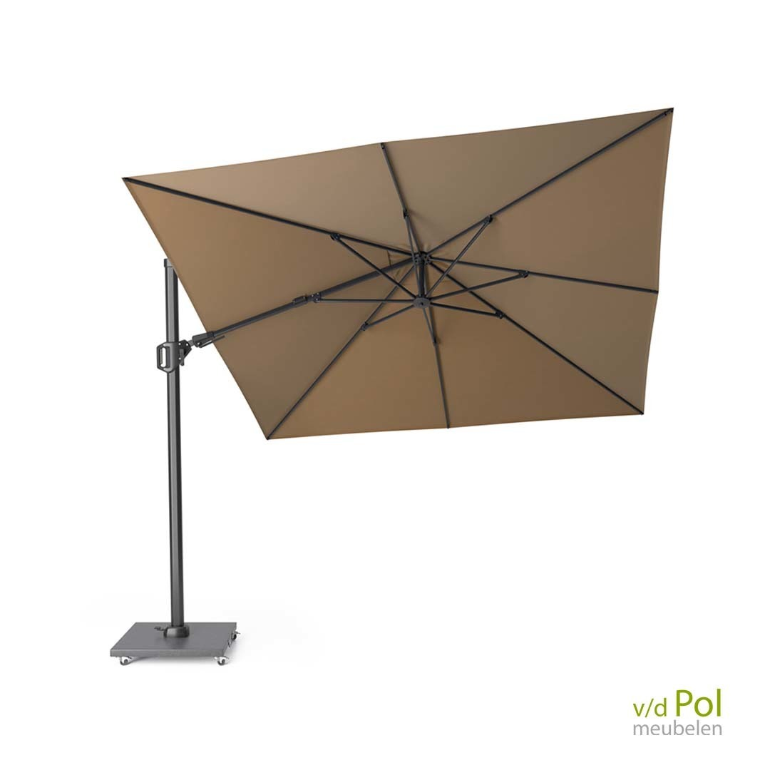 zweef-parasol-challenger-t-3x3-taupe