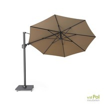 Zweef parasol Challenger T²  ø3,5 taupe