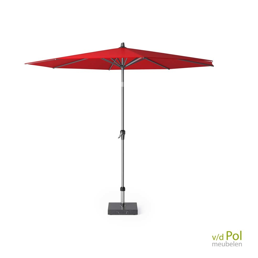 Parasol Polyester Ø 300 cm rood