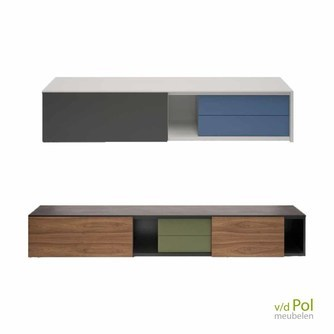 Abitare design zwevend tv wandmeubel 172/230 cm
