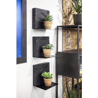 wandplank-zwart-plaque