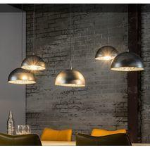 Hanglamp industrieel 5 kappen